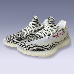 Wholesale Cheap Rugby Boots - cheap With Box 2017 Boost 350 V2 Bred Zebra New SPLY-350 mens shoessneakers women 350 boost Running Shoes Kanye West 10 colour sport shoes