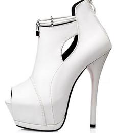 Wholesale Sexy Lady Platform Dress Shoes - wholesaler free shipping factory price hot seller sexy office lady peep toe platform high heel women lady dress shoe065