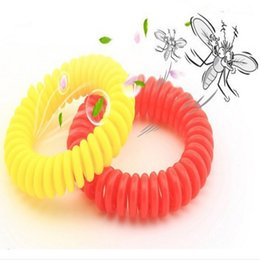 Wholesale Essential Oils For Children - Natural Essential Oil Mosquito Repellent Wrist Bugs Band Bracelet Mosquito Bangle Wrist for Baby Children Anti Summer Night Ring