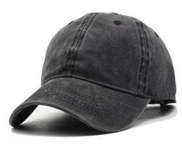 Wholesale Blank Panels Cap - Women Snapback Caps Men Baseball Cap Hats For Men Casquette Plain Bone Gorras Cotton Washed Blank Vintage 6 panel Baseball Caps Sun Hat