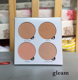 Wholesale Face Blusher - ABH Glow kit Makeup Face Blush Powder Blusher Palette Cosmetic Blushes Moonchild 4 Shades: sun dipped that glaw gleam sweets Anastasia