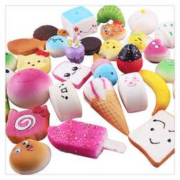 Wholesale Kawaii Cute Squishies - High Quality Kawaii Squishies Rilakkuma Donut Cute Phone Straps Bag Charms Slow Rising Squishies Jumbo Buns Cheap Charms Handbag Squishy