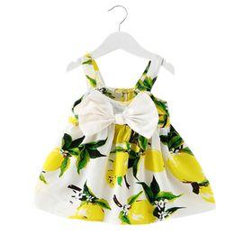 Vente en gros - Nouveau été bébé fille robe infantile filles robes pour 1 an anniversaire fête tutu robe nouveau-né fille vêtements baptême enfants vêtements ? partir de fabricateur