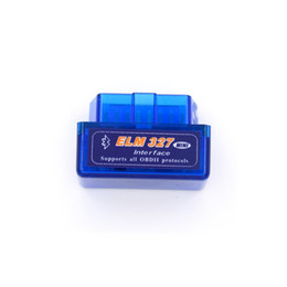 Wholesale ford mini cars - Super Mini Elm327 Bluetooth OBD2 V2.1 Elm 327 Android Adapter Car Scanner OBD 2 Elm-327 OBDII Auto Diagnostic Tool Scanner