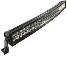 Wholesale 42 Inch Light Bar - 42 inch 240W Curved LED Work Light Bar Spot Flood Combo beam for Truck SUV ATV UTE Tractor Boat 4WD Off-road Jeep 12V 24V