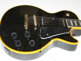 Wholesale Shipping Guitar Strings China - China guitar Newest Black Custom Electric Guitar P90 pickup Free Shipping HOT OEM Musical instruments