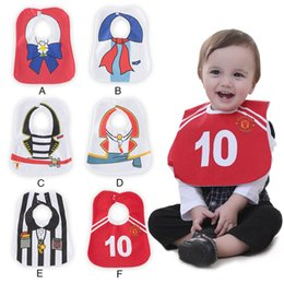 Wholesale Gentleman Baby Bib - Baby Boys Girl Bibs Burp Cloths Newborn cute cartoon gentleman Bibs Baby Gifts kids drool towel Burping Clothing Children Wear Lovekiss A4