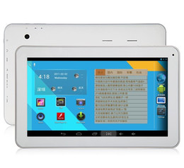2019 android tablet pc weiß Freier Verschiffen AM1005 A20 Tablette PC 1.2GHZ Doppelkern 10.1 Zoll Android 4.2 8GB HDMI Weiß günstig android tablet pc weiß