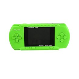 Wholesale Game Pocket Pvp - Portable Handheld game player 8 Bit 2.5 inch PVP LCD Screen Digital Pocket Game Console with Game Card