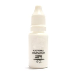 Wholesale White Tattoo Pigment - Wholesale-Corrector Color Professional Tattoo Ink Microblading Permanent Makeup Micro Eyebrow Lip Eyeliner Pigment 1 2 oz 15ML White 3PCS