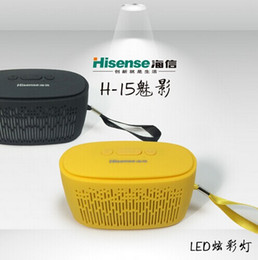 Wholesale Low Price Wireless Speakers - Portable outdoor wireless Bluetooth mobile phone music speaker stereo mini colorful light with free shipping and lowest price