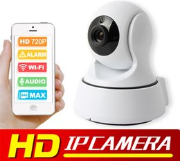 Wholesale Smart Home Audio Wholesale - Wireless IP Camera WIFI Night Vision HD 720P Smart Camera Two Way Audio Home CCTV Surveillance Camera P2P View
