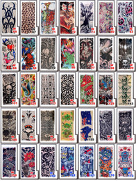 Wholesale Tattoo Dhl - Wholesale Multi style 100% Nylon elastic Fake temporary tattoo sleeve designs body Arm stockings tatoo for cool men women DHL Free shipping