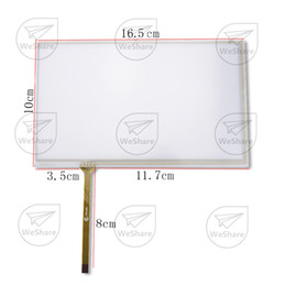 Wholesale Wholesale Car Dvd Navigation - Wholesale- New 7'' Innolux AT070TN92 90 94 93 HSD070IDW1 Touch Screen Digitizer Panel 165mm*100mm for Car Navigation DVD Display
