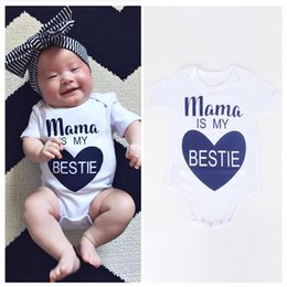 Wholesale onesies white wholesale - Baby Rompers Summer Infant Triangle Romper Onesies cotton Short sleeved sunsuit babies clothes boy girl comfy jumpsuit fast shipping DHL EMS