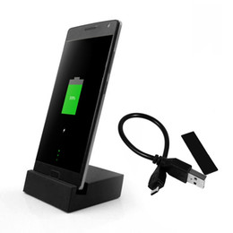Wholesale Docking Stations Micro Usb - Micro USB To Type C Portable Charger Charging Dock Station Cradle Stand For Xiaomi 4C Redmi Note 3 For One Plus 2