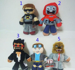 Wholesale Play Style Games - Guanyingxiong 18-23CM TUBE HEROES TDM Plush dolls toys 5 style children cartoon Anime Play Games Movie Dolls Kids Gift Plush dolls