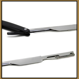 Wholesale Straight Razors Wholesale - Straight Cut Throat Shavette Razor Traditional Manual Professional Barber Shaving Folding Razor for Men