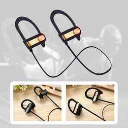 Wholesale sound for iphone - Q7 Wireless Sport Bluetooth 4.1Headset Stereo Sound Earphone in Ear Headsets for Samsung S8 Note 8 with retaill pack