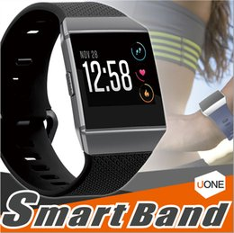 Wholesale Ionic Blue - For Fitbit Ionic Bands Accessories Fitbit Ionic Band Silicone Sport Strap with Metal Clasp for Fitbit Ionic watch bands Without Tracker