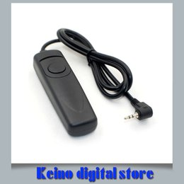Wholesale Camera Mark Ii - Wholesale- RS-60 E3 Camera Remote Control Shutter Release Switch for SX50 SX60 HS T3i 60D 70D 550D 600D 650D 750D G12 G15 G16 G1X Mark II