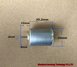 Wholesale Strong Micro Motor - Brand new 24*30mm 280 micro DC motor strong magnet 6V 120000RPM high speed carbon brush motor ~