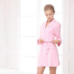 Wholesale House Robes - Wholesale- Housing Bathrobe Badjas Robe De Nuit Sexy Lingerie Robe De Chambre Femmes Nuit Women Sleepwear Clothing For Women's Sleep 2017