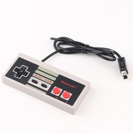 Wholesale Nes Controllers - Wired Controller for Nes mini Classic Edition Wired controllers Game Console controllers wired DHL Free