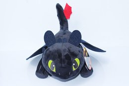 Wholesale Toothless Plush Doll - HOW TO TRAIN YOUR DRAGON plush toys Toothless Night Fury stuffed doll kids Toys Stuffed & Plus Animals