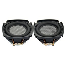2019 ом аудио Wholesale- 2Pcs Tweeter Audio Loudspeakers Full-Range High Power Magnetic Portable Mini Speaker Plate Speakers 2 Inch 10 W 16 Ohm дешево ом аудио