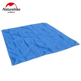 Wholesale Camping Tent Awning - Wholesale- NatureHike 210D Oxford 2 4 people mat Outdoor Camping Traveling Moisture-proof Pad Tent accessories Beach Tent Awning