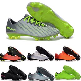 Wholesale Cupping For Massage - Mercurial Vapor XI FG Soccer Shoes Cheap Soccer Cleats For Men Football Boots World Cup Football Cleats Soccer Boots Football Shoes