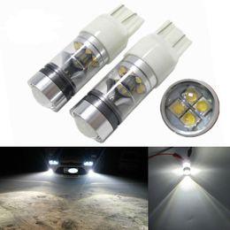 Wholesale Led Driving Bulbs - auto T20 led 7440 7443 16 SMD LED 100W daytime running light Head Light Driving Light 5500-6500K drl Car HeadlightsC