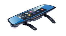 """Espejos de cámara gps online-2017 Nuevo ANSTAR Espejo Retrovisor Coche DVR Dash Cam Navegación GPS 6.86 """"Pantalla Completo HD 1080P Android Asistencia Aparcamiento Cámara Dual Lens"""