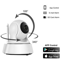 Wholesale Mp Ccd - Home Security Wireless Mini IP Camera Surveillance Camera Wifi 720P Night Vision CCTV Camera Baby Monitor