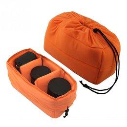 Wholesale Neoprene Bag Pad - Wholesale Universal Padded Protector Neoprene Camera Lens Bag for Canon Nikon Sony DSLR SLR Camera