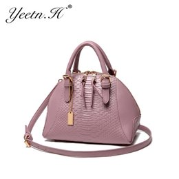 Wholesale Leather Handles For Handbags - Wholesale- 2017 New Arrival Fashion Leather Top-Handle Bags Totes Woman Handbags Vintage Bag For Women Shoulder Bags A2148
