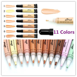 Wholesale face pencils - Christmas Popfeel Makeup Concealer High Definition Concealer Liquid Foundation BB Cream Cosmetics Face Concealer 11Colors Concealer Pencil