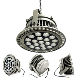Wholesale Led Cool White Hanging Lights - Explosion-proof 120Lm w CITIZEN LED UFO High bay lights 150W 200W 250W Canopy Hanging Light floodlight 3 Years Warranty