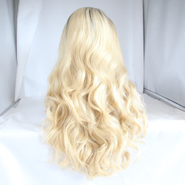 Wholesale Gold Lace Wig - High temperature silk front lace headgear wigs headset freestyle high temperature lace a variety of styles a variety of colors for any face
