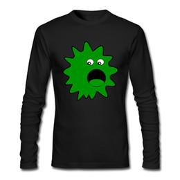 Deutschland Neueste Mode Shirts Für Männer Grün Große Maus Virus Seltsames Gesicht Auf T-shirts 2017 Top Baumwolle T-shirts supplier mouse face Versorgung