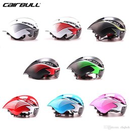 Wholesale Ep Racing - CAIRBULL New Painting Goggles Pneumatic Racing Helmets Cycling Helmets
