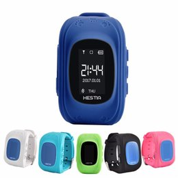 Wholesale Baby Watch Camera - Q50 Smart baby Watch Phone Children gps tracker for kids Anti-Lost SOS Wristband smartwatch for iOS Android phone