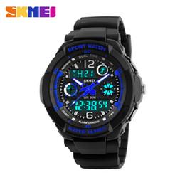 Wholesale Diver S Wristwatch - 2016 S SHOCK Brand Women Kids Sports Watches Children Sport Watch Military Fashion Quartz Digital Watch Boys Wristwatch Relojes