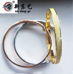 Wholesale Scrubs Sets - 2016 New Arrival High Quality Scrub fashion Love Forever Bangle platinum 18K Rose gold Plated Bracelet for couple Freeshipping
