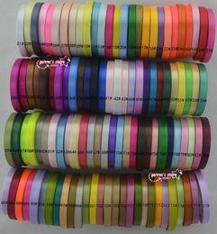 Wholesale Gift Satin Ribbon - wholesale (25 yards roll ) 250 yards lot 3 8'' 10mm Single Face Satin Ribbon 120 colors can option Wholesale gift packing Christmas ribbons