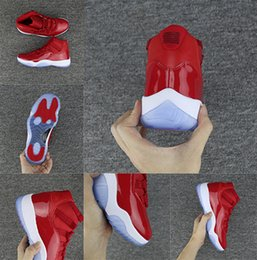 Wholesale Mens Shoes For Winter - basketball shoes 11 Chicago Gym Red 11s Midnight Navy Mens sport Shoes For Men Women Space sport 45 Legend Blue Sneakers 2017 With Box