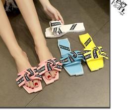 Wholesale pink gingham - cute girls sandals flip flops women sandal slippers flats beach