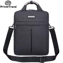 Wholesale Princes Bags - Wholesale- Prince Travel Brand Design Men Shoulder Bags High Quality Oxford Casual Messenger Bag Business Men's Travel Briefcases