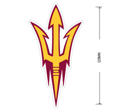 Wholesale Devil Car Decals - NACC Arizona State Sun Devils Car reflective stickers Car Reflective stickers Decal